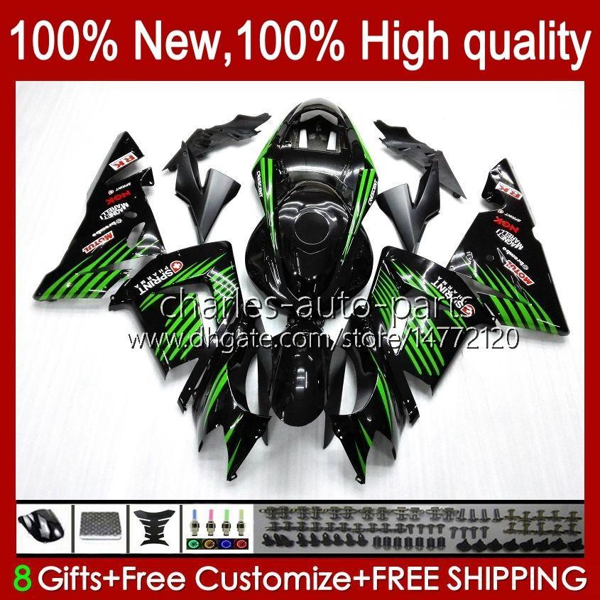 Body Kit OEM voor Kawasaki Ninja ZX1000C ZX 10 R 1000 CC ZX1000 04-05 Carrosserie 9NO.137 ZX 10R 1000CC ZX10R 04 05 ZX-10R ZX1000CC 2004 2005 Motorfiets Verkouding Glanzendrood