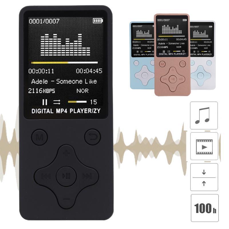 MP4 jogadores Omeshin HiFi USB Mini MP3 Music Player 1.8inch LCD Screen FM Radio Video Filme com alto-falante TF Cartão Traduzidos por robôs.Veja na lingua original. (Hã?) Em estoque!