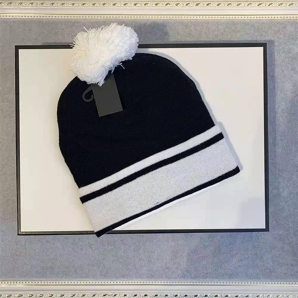 Fashion Designer di alta qualità Big Lettera Beanie Unisex Cappello lavorato a maglia Cappello classico Sport Cranio Cappelli da donna Casual Casual Warm per il tappo dell'uomo 2021