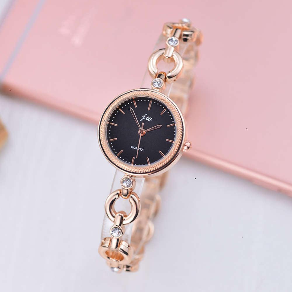 Relógios de pulso simples, fresco pequeno bracelete e estudante assistir branco colarinho versátil cadeia relógio3syo