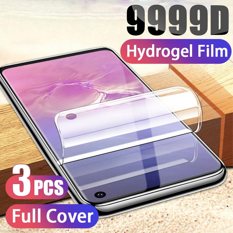 Hydrogel Screen Protectors For Samsung Galaxy s21 s20 S10 S20 S9 S8 Plus S10E Protective Film on A51 A50 A71 A70 Not Glass
