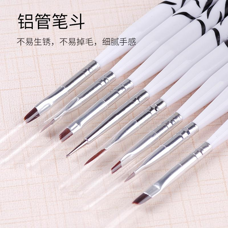 Set full chiodo alio colorante colorante colorato linea pittura linea penna penna penna pennello fiore