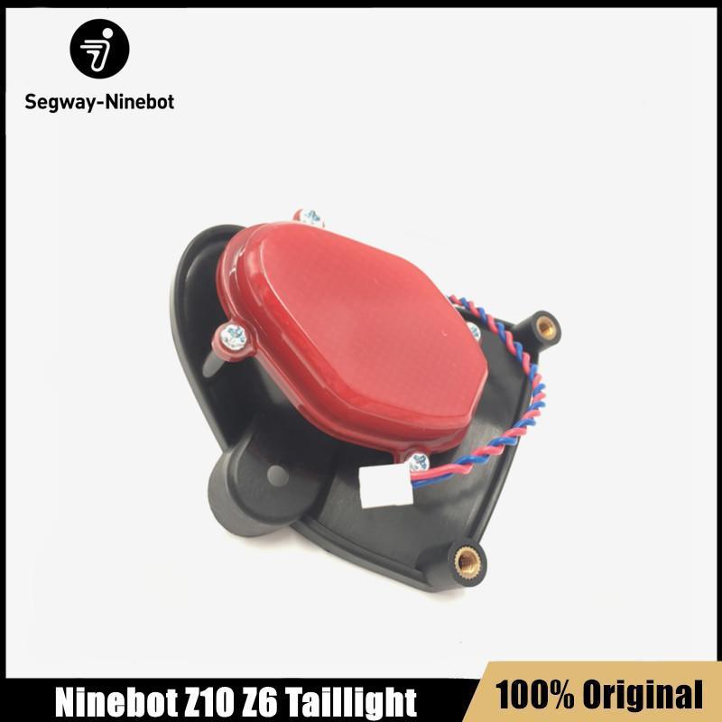 Feu arrière d'origine pour Ninebot One Z10 Z6 Scooter Scooter électrique de scooter électrique Scooter Hover Bover Skate Board Accessoires de lumière arrière