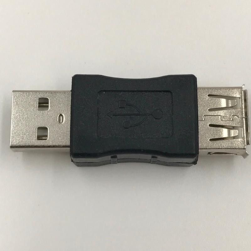 Разъемы аудио кабелей 2 шт. USB Extender 2.0 Мужчина к женскому адаптеру продления кабеля 0 Степень в 360 разъема 1 шт.