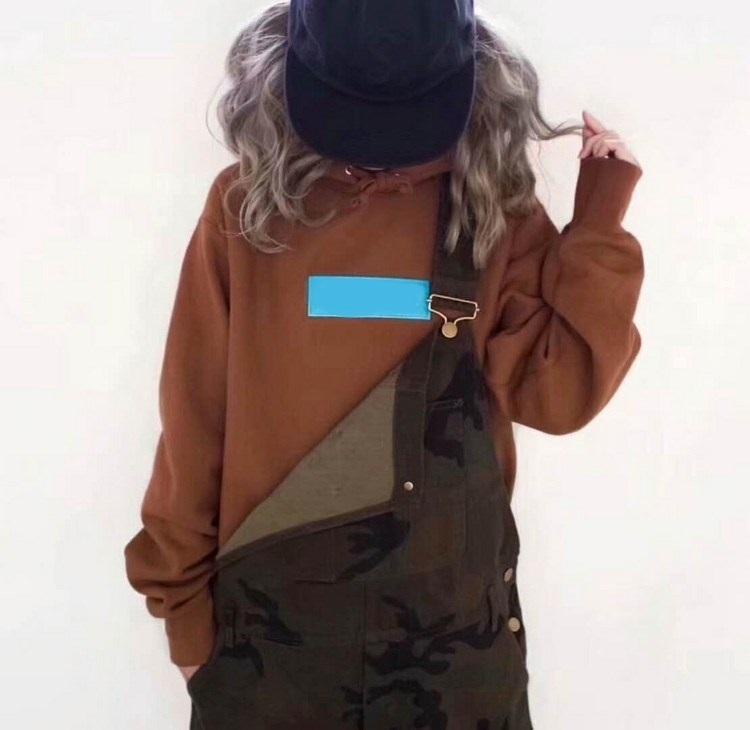 2021ss Hoodies Hip Hop Streetwear Klasik Nakış Mektubu Kutusu Marka Polar Pamuk Hoodie Çift Kapüşonlu Tişörtü Boyutu S-XL