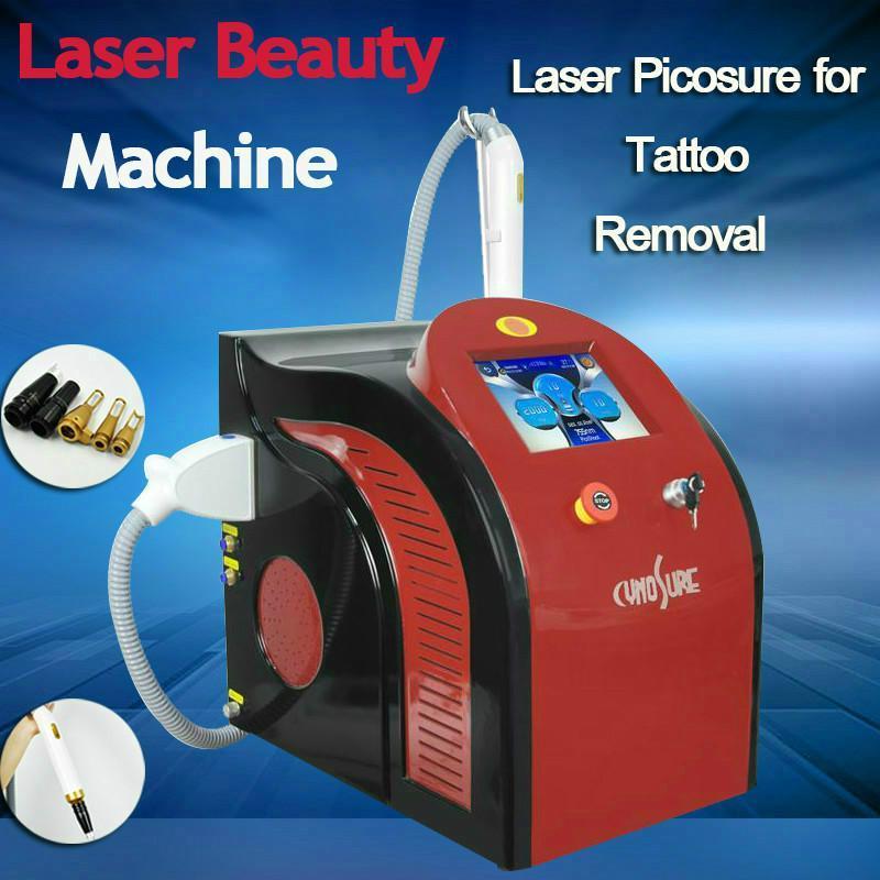 Dövme kaldırma için lazer 1064 532 755nm güzellik makinesi