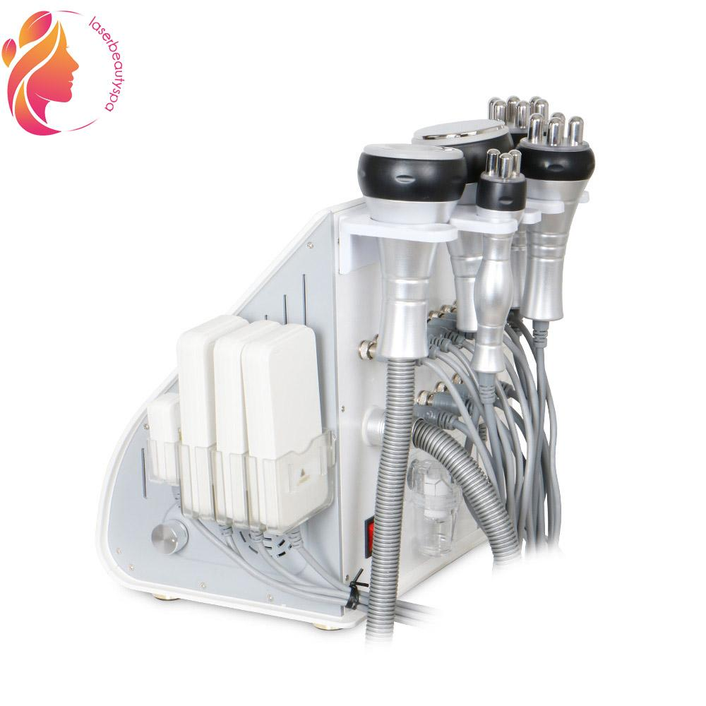 6in1 Ultrasonic Cavitation RF Radio Frequency Vacuum Slimming Fat Removal Cellulite Machine