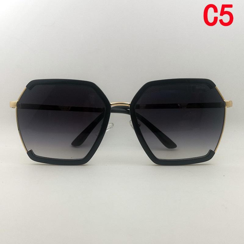 Top Qualität Mode Frauen Luxurys Designer für Frau Sonnenbrille Rechteck Gloggle Übergroße Sonnenbrille Retro Klassische Gläser Luxe