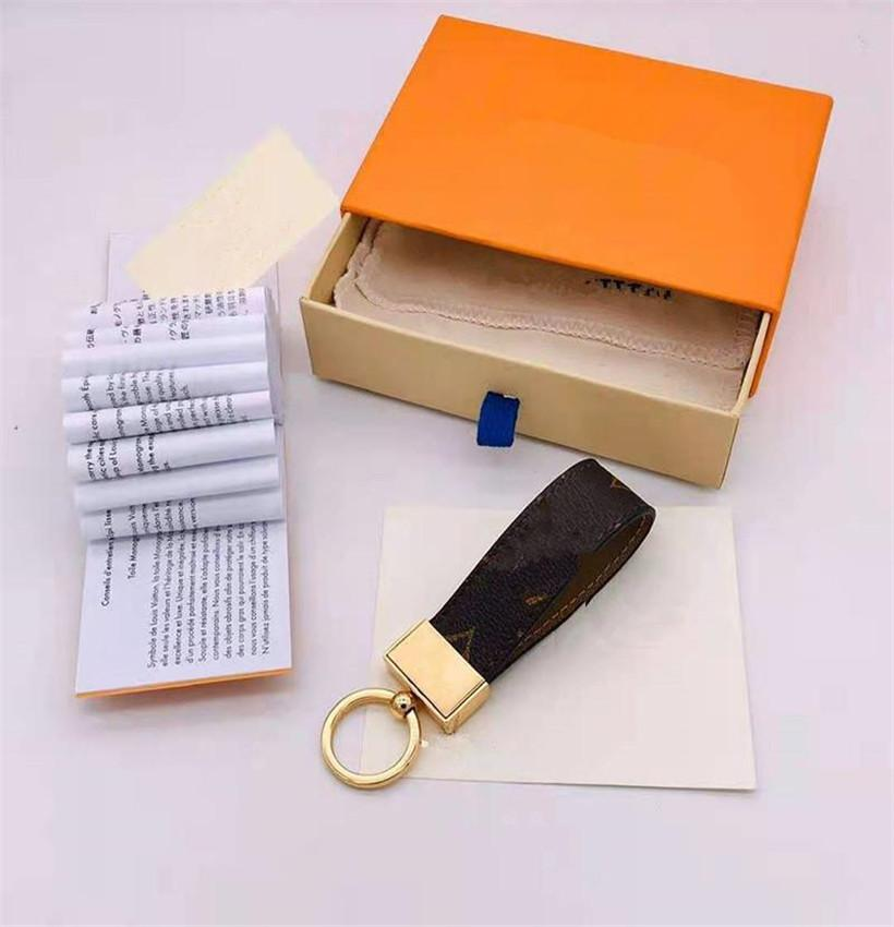2021 LUSSO Keychain ad alta qualità Catena Catena Portachiavi Portachiavi Brand Designer Porte Clef Regalo Uomini Donne Borsa da donna Portachiavi 888