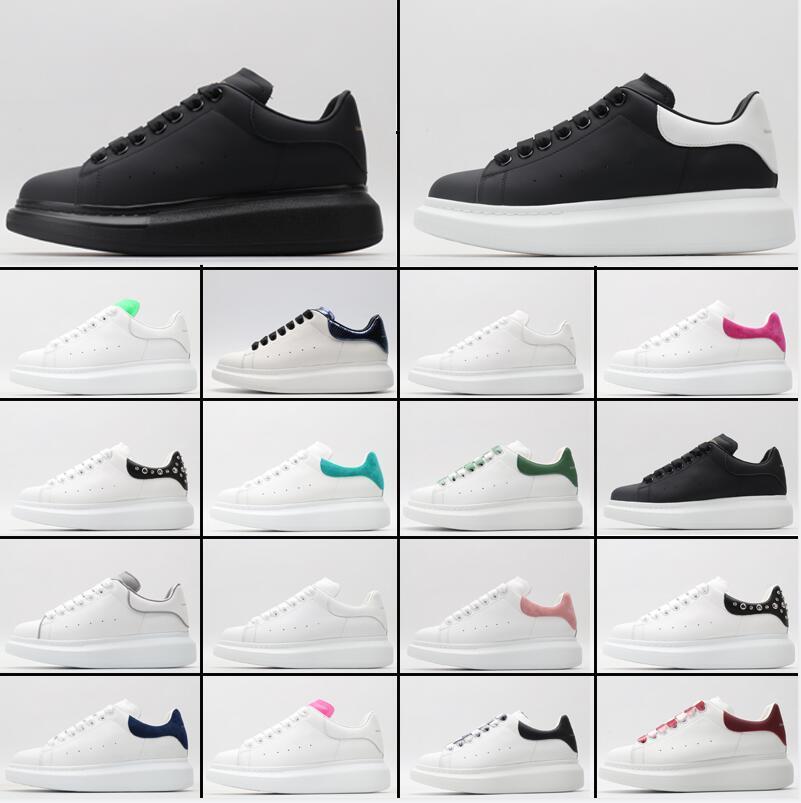 2021 أعلى جودة مع مربع مصمم الرجال النساء إمرأة أبيض رجالي أحذية espadrilles المتضخم الشقق منصة عارضة espadrille شقة أحذية رياضية موضة الحجم 36-45