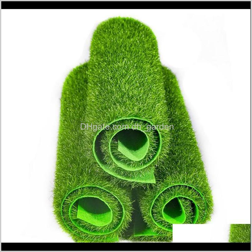 الزهور الزهور أكاليل 4 قطع 30 سنتيمتر العشب حصيرة الأخضر الاصطناعي العشب العشب السجاد وهمية أحمق حديقة الطحلب للمنزل الطابق الزفاف ديكور fyndw