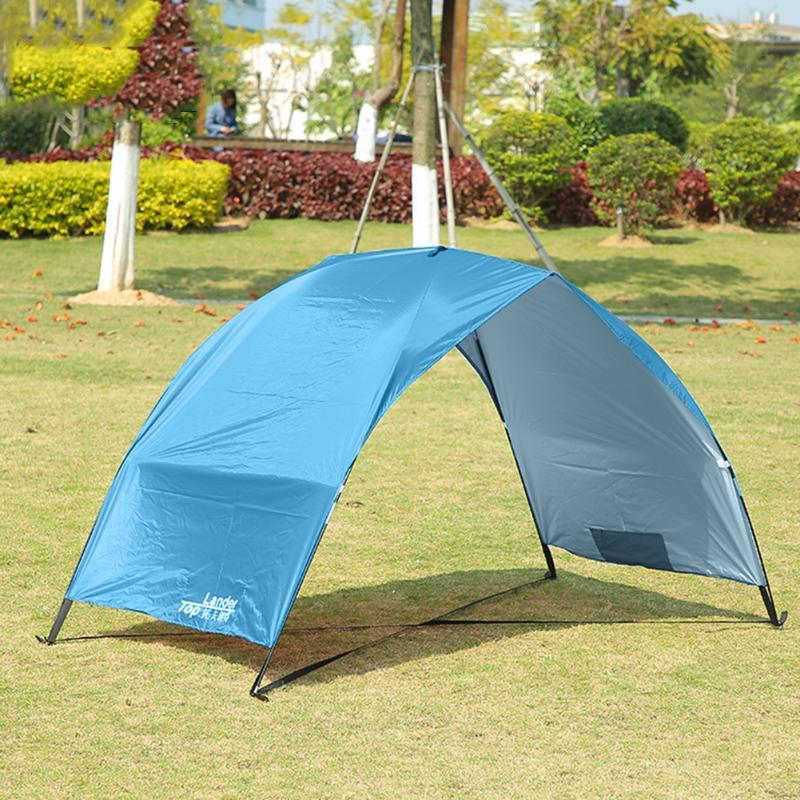 Lightweight Portable Sun Shelter Beach Tent Summer Outdoor Garden Awning Shade Canopy Easy Setup Camping Fishing Hiking Tents And Shelters