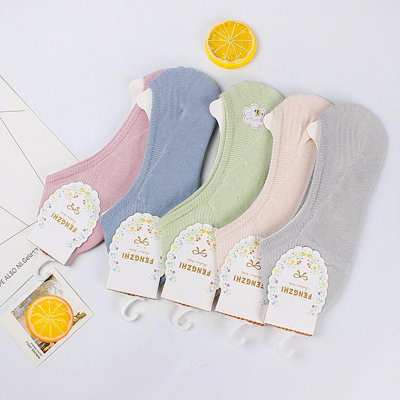 Socken Sommer Boot Weibliche Unsichtbare Baumwolle Kinder Reine Süßigkeiten SOS, Sile Anti Slip Shallow Mund