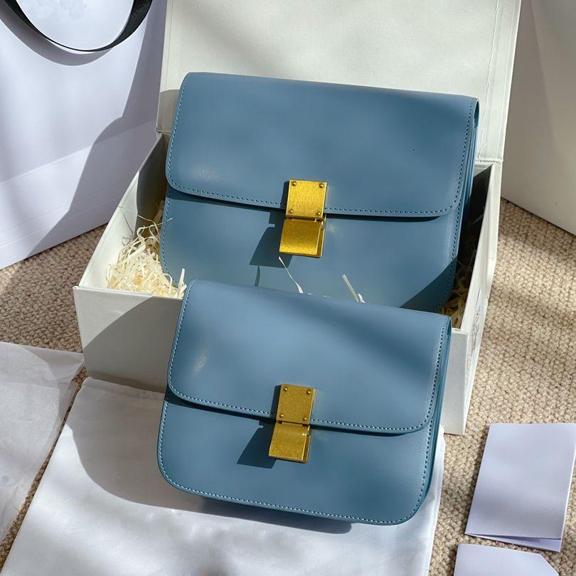 2021 Version Crossbody Bag Umhängetaschen Handtasche Mode-Stil Super-Migrationsmaterial Schöne Stile für junge Mädchen mit Kasten