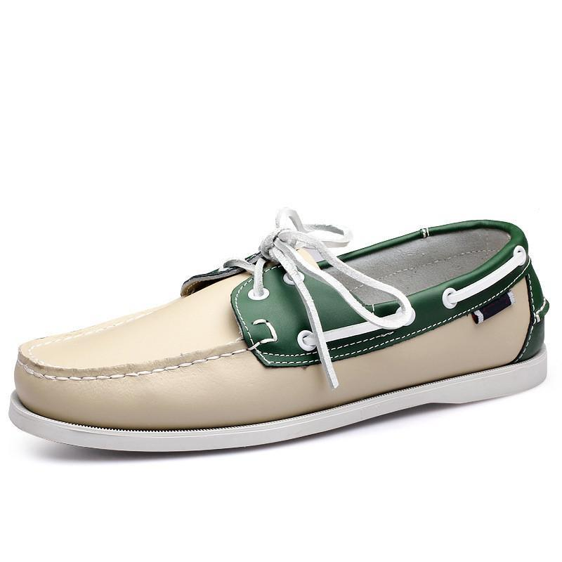 Mode Hommes Casual Chaussures Type14 Cuir Style britannique Noir Blanc Blanc Jaune Jaune Jaune Red Extérieur Confirmer Confirmer Chaussures Zapatos Schuhe Formateurs