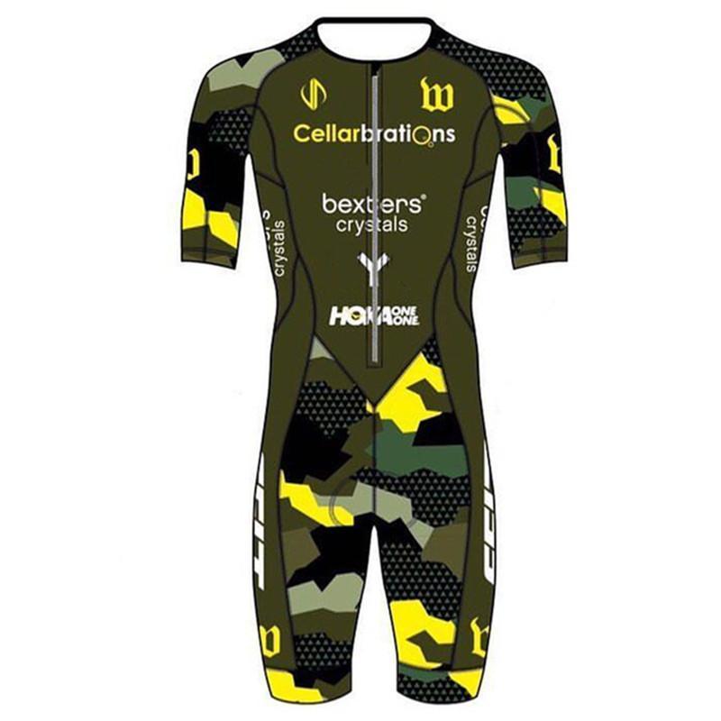 سباق مجموعات Wattie الحبر 2021 Triathlon الرياضة فريق كيت الرجال الدراجات skinsuit الهواء قطعة واحدة ارتداءها الكرونو speedsuit دراجة تراي دعوى دراجة ارتداء