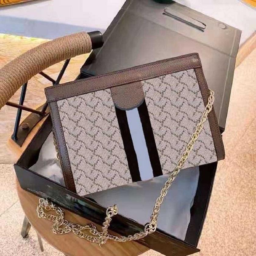 2021 Mizaç Bayanlar Deri Çanta Moda Deri Malzeme Klasik Cüzdan Çanta Bayanlar Yüksek Kalite Debriyaj Omuz Çantası Çanta