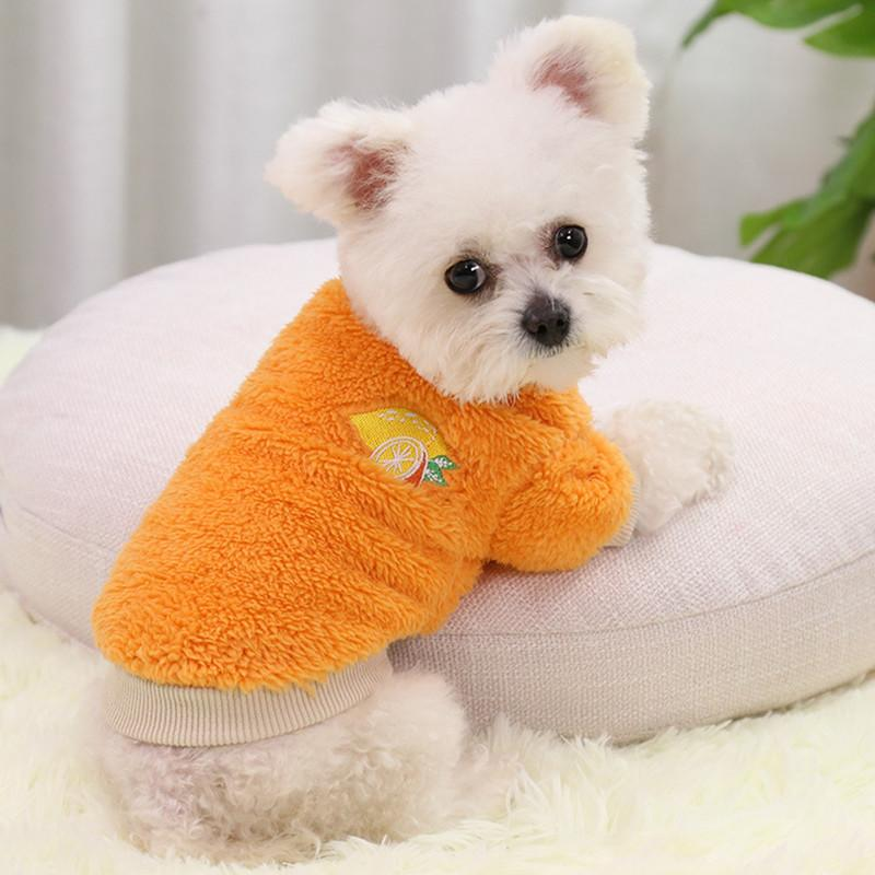 Fashion multicolor dog APPAREL clothing autumn and winter pet cat small medium large coat clothes DHL FREE