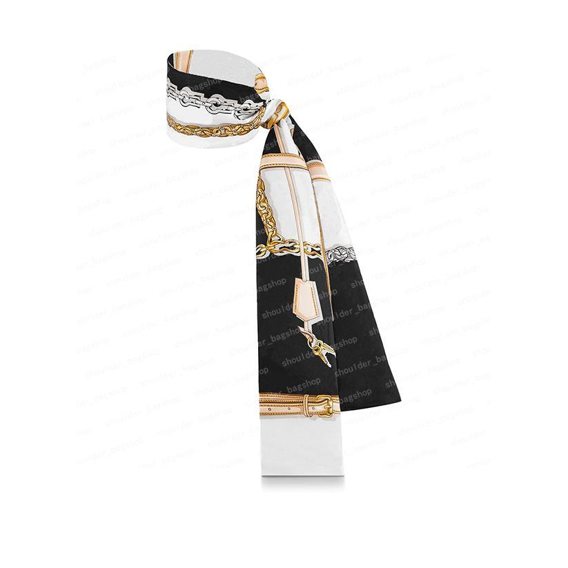 2021 Sac à main en soie Sacs à main Sacs Femmes Sacs Lettre Fleurs Séchambres Top Grade Hear Cheveux 3 Couleurs 18917 8x120cm # VSJ-01