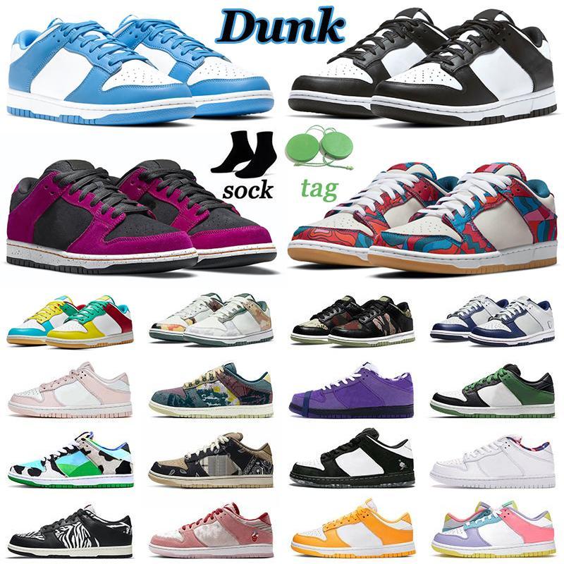 【code:OCTEU03】Dunk SB Hombres Mujeres Zapatos casuales Dunks Low Sail Multi Camo Abstract Art Shadow Michigan Zapatillas de deporte para hombre Zapatillas deportivas al aire libre