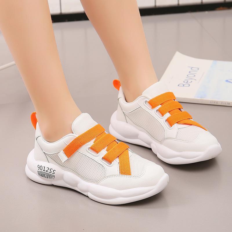 أحذية رياضية mxhy الربيع الصيف الخريف عصري صافي تنفس الترفيه الرياضة الاحذية للبنات أطفال للجنسين