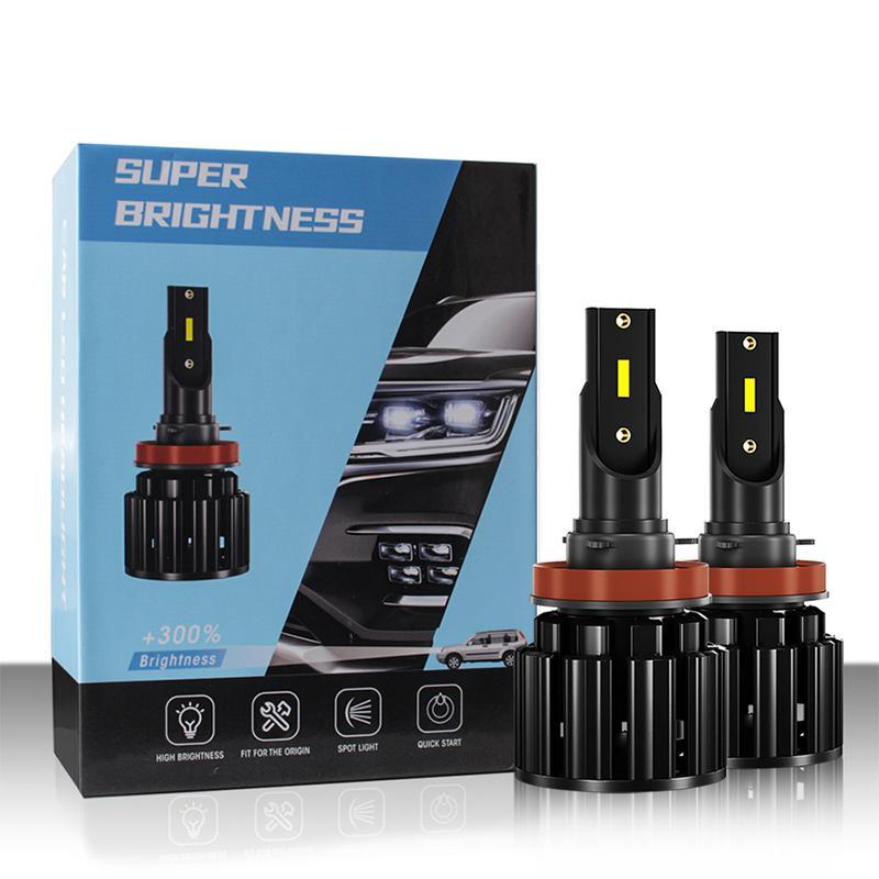 S8 H1 H3 H7 50W Coche LED Bombillas Luces H8 / H9 / H11 9005 / HB3 / H10 6500K 9-36V Auto Universal Auto Firaves Cob Chip Super Brightness H4 / HB2 / 9003