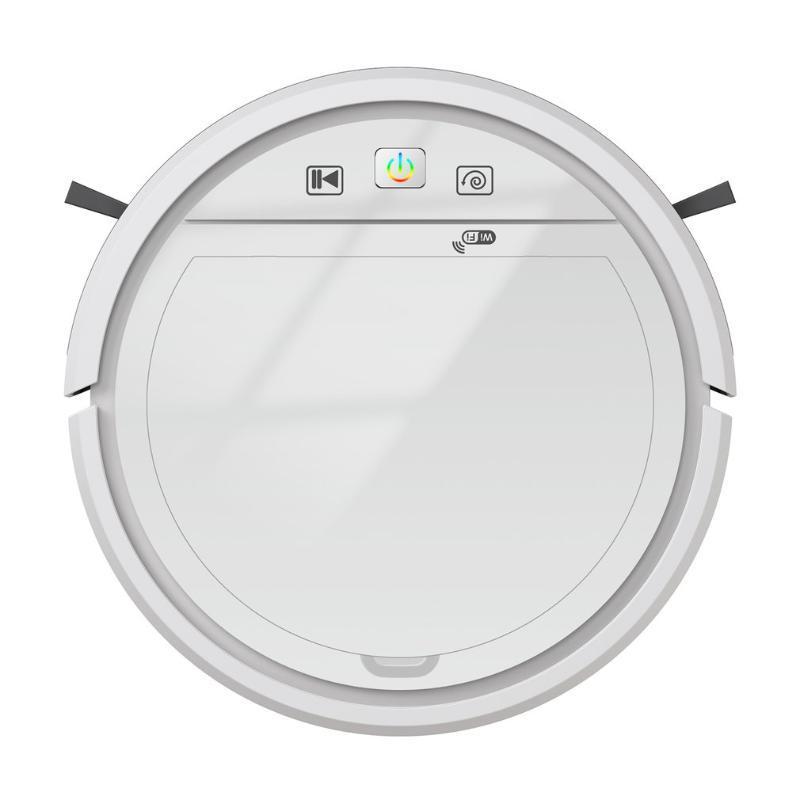 WiFi 3-in-1 Robot Cleaner 1500PA Vacuum 4-Mode متوافق مع مساعد الأجهزة المنزلية الصغيرة