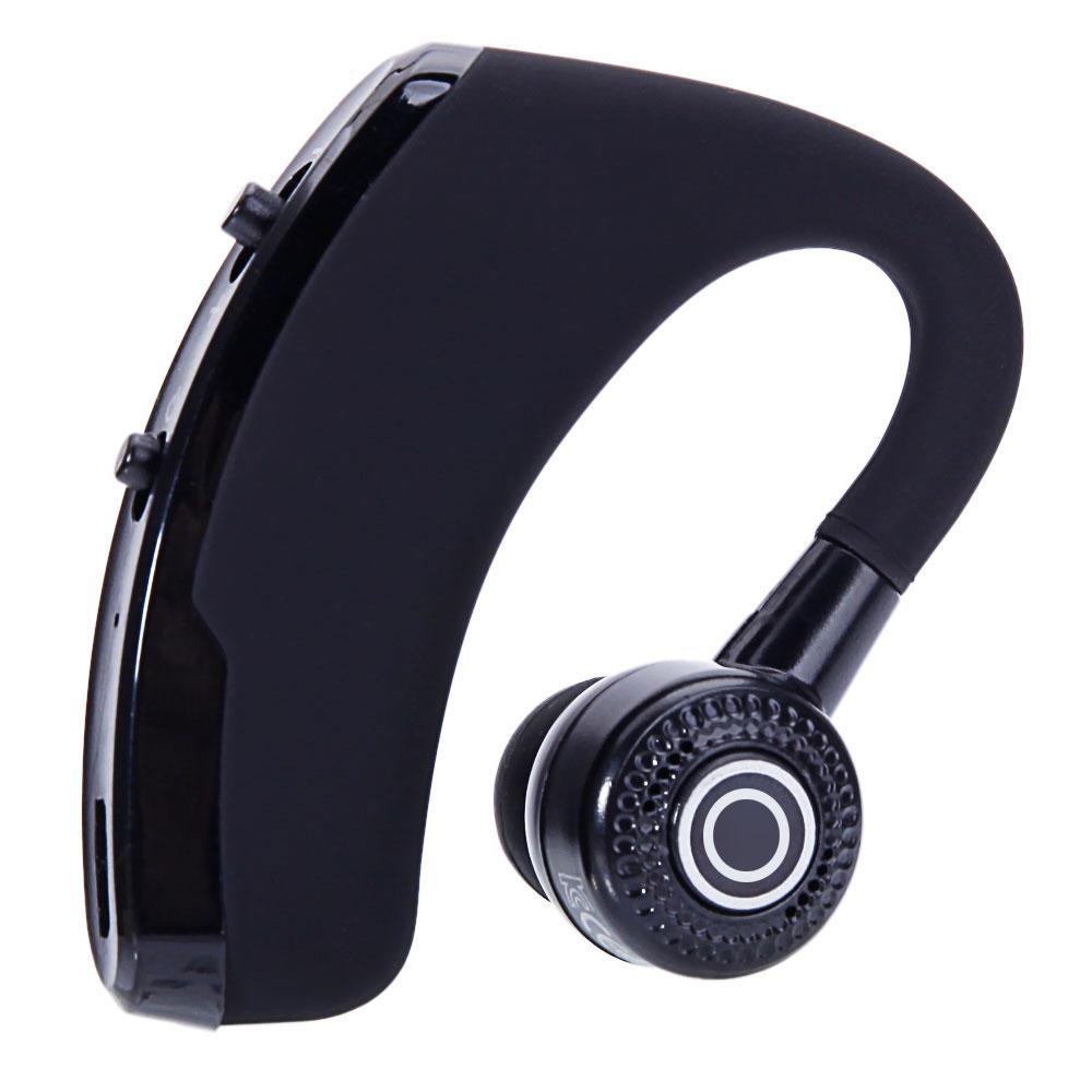V9 Stereo Bluetooth Kablosuz Kulaklık Voyager Efsane Nötr Siyah Kulaklık Küçük Hafif Şık