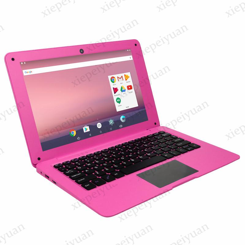 2021 10.1 inch mini laptop notebook computer Ultrathin Hd Lightweight and Ultra-Thin 2GB+32GGB Lapbook Quad Core Android 7.1 Netbook
