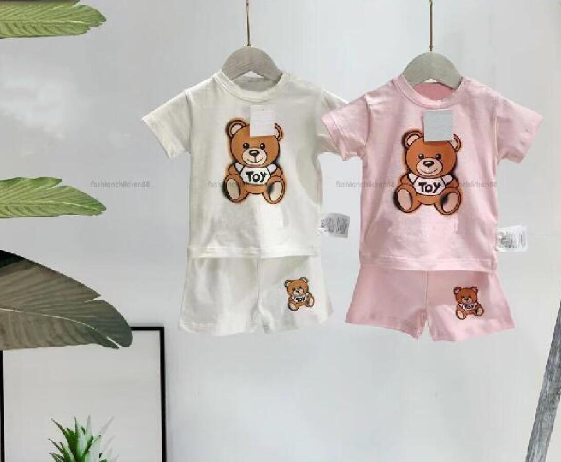Niños ropa conjuntos niños ropa de verano niñas camiseta traje corto traje deporte niños diseñador niño disfraz de bebé