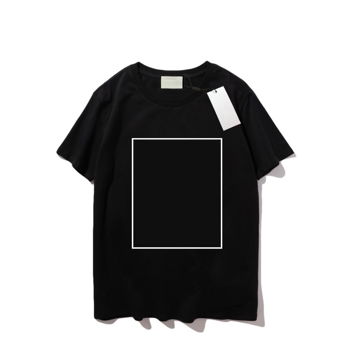 21SS T-shirt d'été Mode Mode T-shirt Vêtements Broderie Personnalisé Tee Street 24Couleurs Styles Modèle de lettre Imprimer Mens manches courtes respirantes