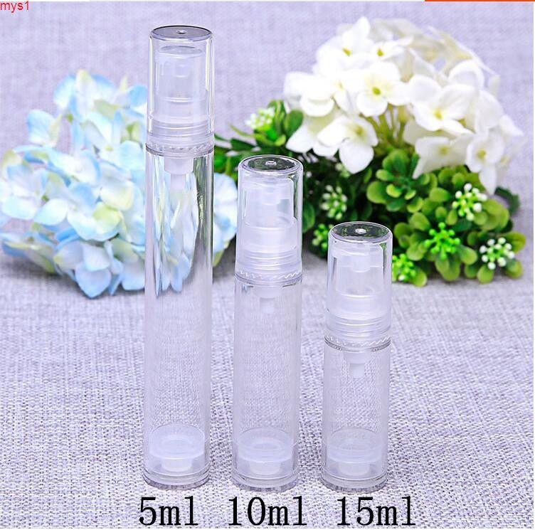 5G / ML 10G / ML 15G / ML Botella de plástico transparente Botella de plástico Shanpao Loción Crema Emulsión cosmética Emulsión vacía Embalaje Botella de botella Cantidad