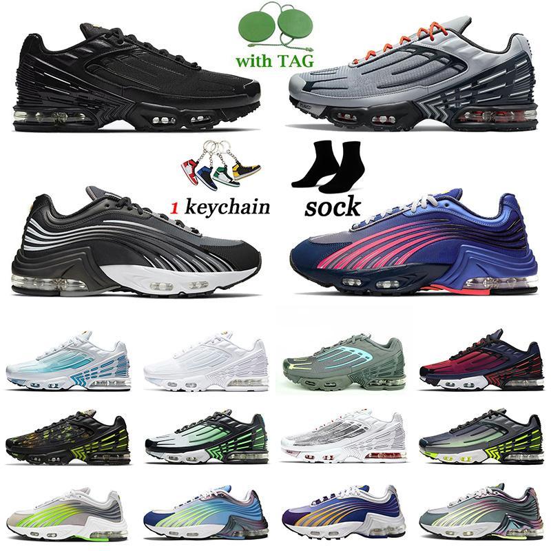 Nike Air Max TN Plus 3 Airmax 2 Tuned Erkek Kadın Koşu Ayakkabısı Parlak Kırmızı Lazer Mavisi Üçlü Siyah Tümü Beyaz Kaplan Kırmızısı Gökkuşağı Spor Ayakkabıları Spor Ayakkabı