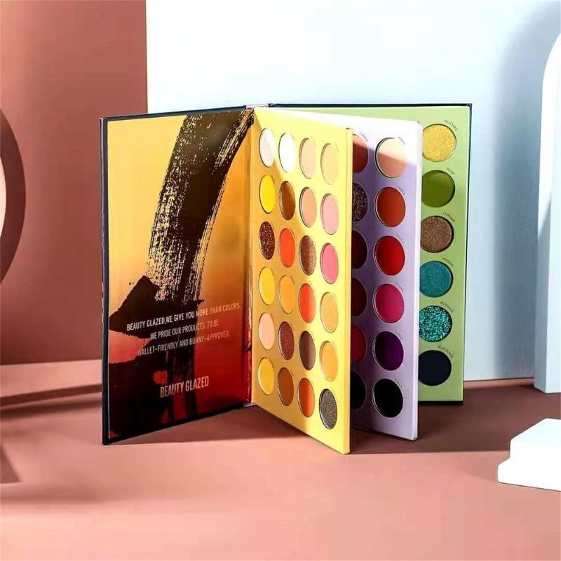 Ombre à la paupière 72 couleurs réserver Earthy Ougshadow Palette Matte Shimmer Pigmented Smoky Party Plateau de maquillage Imperméable Cosmétiques durables