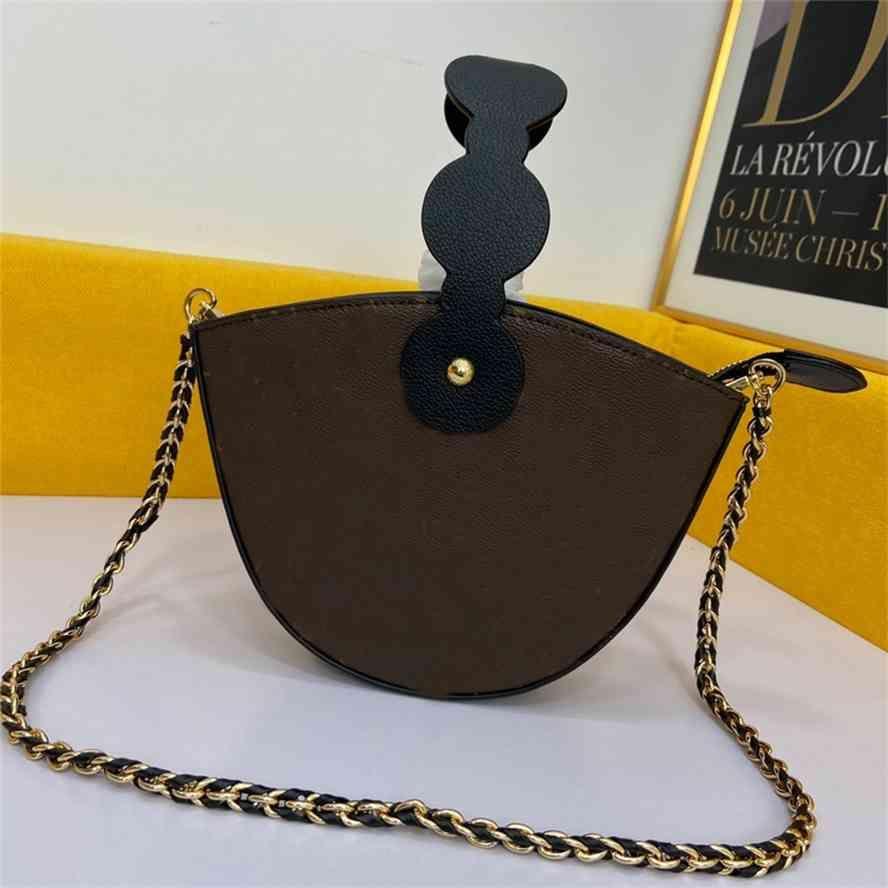 El çantasıFashion Crossbody Çanta Çanta Çanta Omuz Çantası Görünmez Manyetik Toka Fermuar Kapatma Ayrılabilir Zincir Qualitygg Çanta