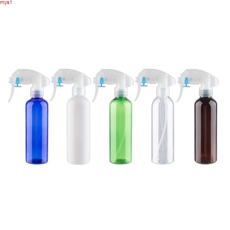 Botellas de plástico de la bomba de gatillo vacío 200 ml de limpieza del contenedor de mascotas con rociador Cosmética para regar el hogar Cantidad