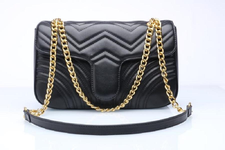 gucci Frauen Luxurys Designer Taschen 2021 Hohe Qualität Marmont Samt Schulter Handtaschen Geldbörsen Kette Mode Brief Crossbody Bag