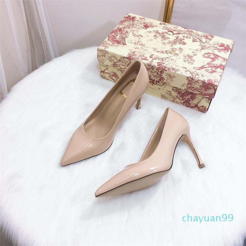 Designer womens scarpe tacchi alti g sandali di lusso in gomma di lusso lettere a ferro di cavallo in pelle a ferro di cavallo in pelle professionale party shoe 31545
