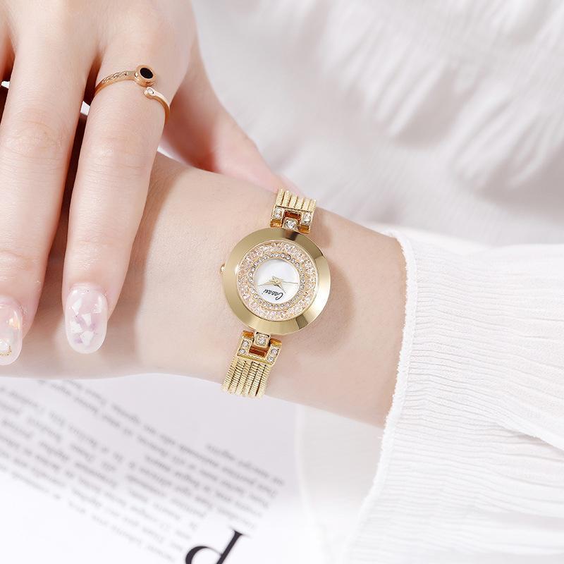 Koreanische kleine Frauen watch Mini-Zifferblatt-Goldkette Damen-Armbanduhren für s, um Diamant Handuhr weibliche Armbanduhren zu verkaufen