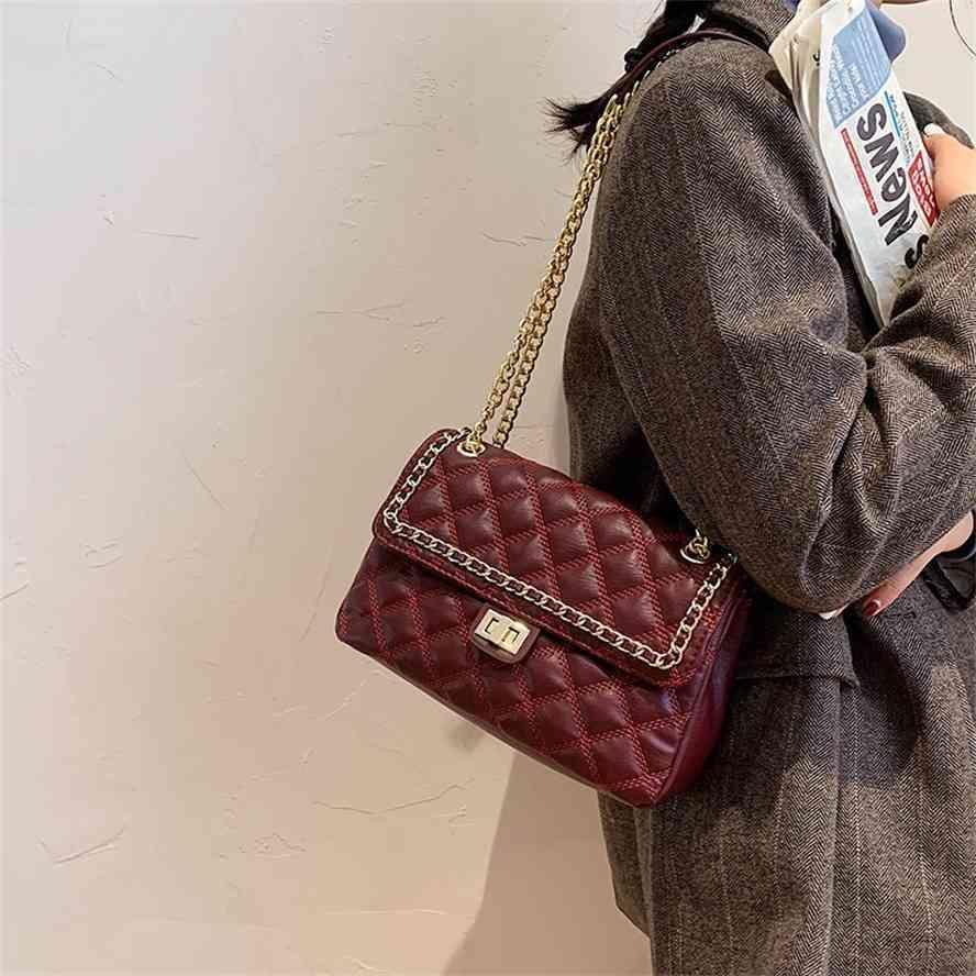 Nova saco de ombro único de cadeia versátil para mulheres
