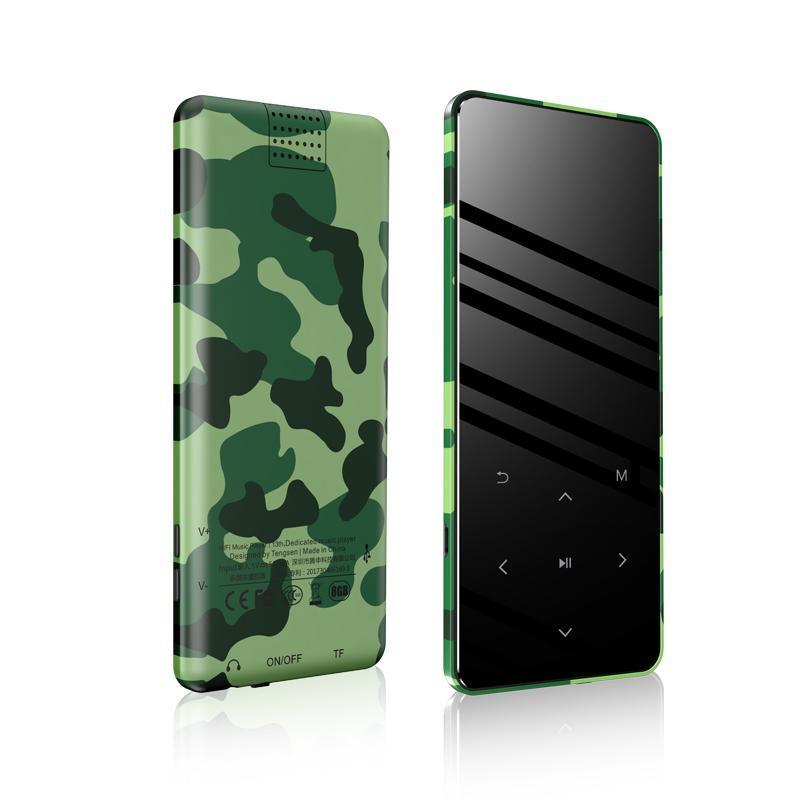 Mp4 Players Metal Original Bluetooth Player 2.4inch Altifalante Buter-in 16G 32G 64G HiFi Walkman portátil com Adio FM Gravação