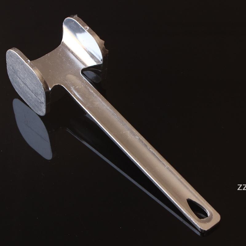 3 크기 고기 Tenderizer 망치 스테인레스 스틸 스테이크 쇠고기 돼지 고기 닭고기 송아지 가금류 주방 도구 고기 도구 hwe9040