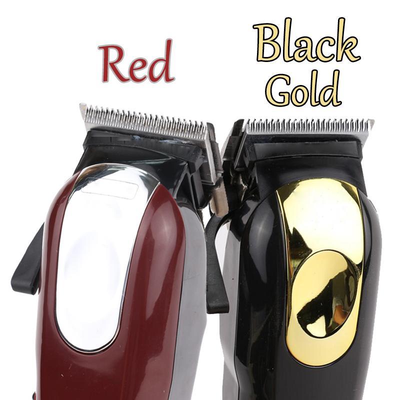 8148 Magic Metall Haarschneider Elektrische Rasierer Männer Stahl Kopf Rasierer Haarschneider Gold Rot EU US UK UK Auf Lager