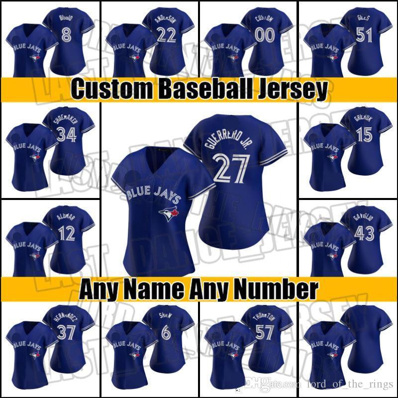 Blue Jays Vladimir Guerrero JR George Springer Jersey Toronto Jersey Marcus Semien Bo Bichette Jerseys Lourdes Gurrriel Jr. Cavan Biggio C51s