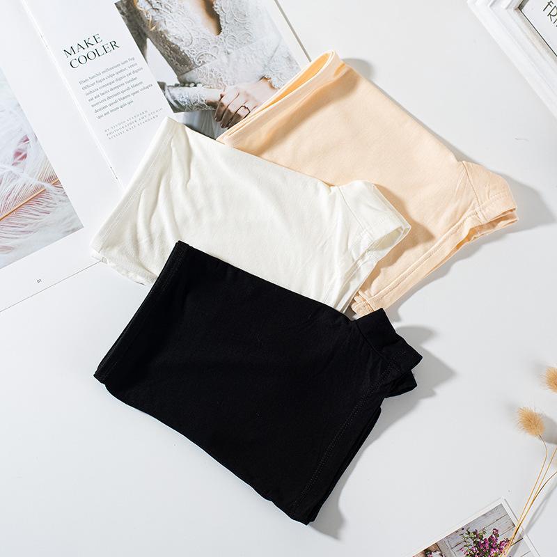 Culotte 808 Pantalon de sécurité modal Coin plat Trois-Point Anti-Light Sexy Leggings Sous-vêtements Femme