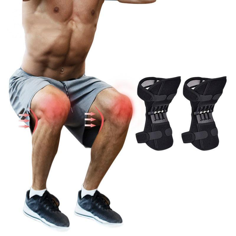 Elbow & Knee Pads Joint Power Support Strong Resilience Anti-slip Strength-enhancing High Protect The -40