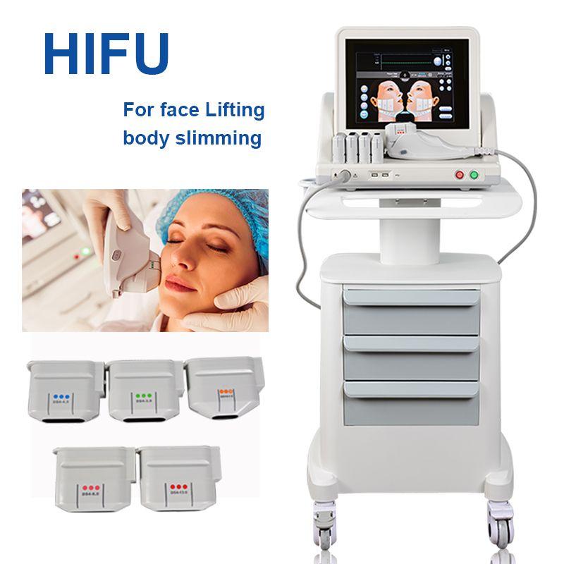 2021 selling portable hifu machine hifus slimming Face and Body beauty HI FU liposonix machines Non-invasive Anti-Aging Equipment