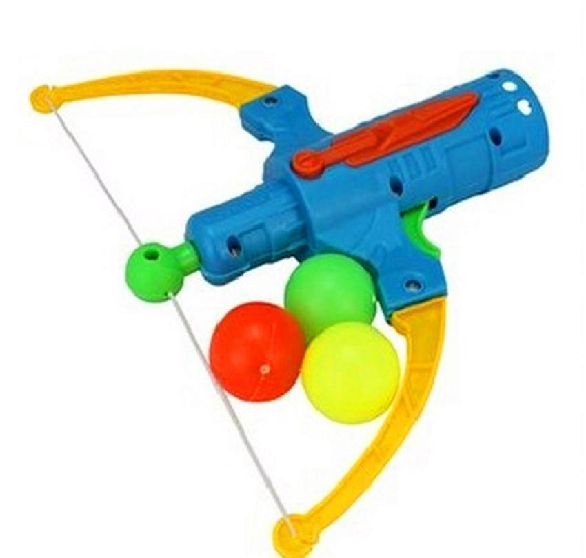 Model Toys & Gifts Drop Delivery 2021 Arrow Table Tennis Gun Bow Archery Plastic Ball Flying Disk Shooting Outdoor Sports Children Gift Sling