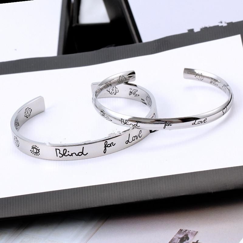 Nachahmung Platin Open Armband Blume Vogel Liebesgeschichte Armreif Für Männer und Frauen Paare Liebhaber Geschenk