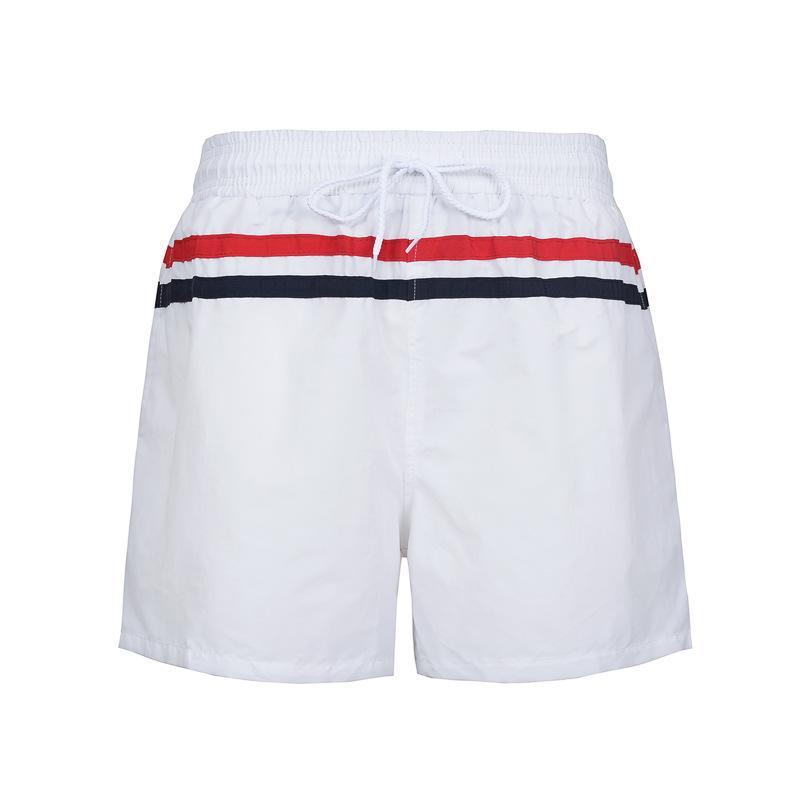 Pantaloncini da uomo Fashion Simple Striped Pants Patchwork Trunks Beach Board Brand Running Sports Casual Surffing